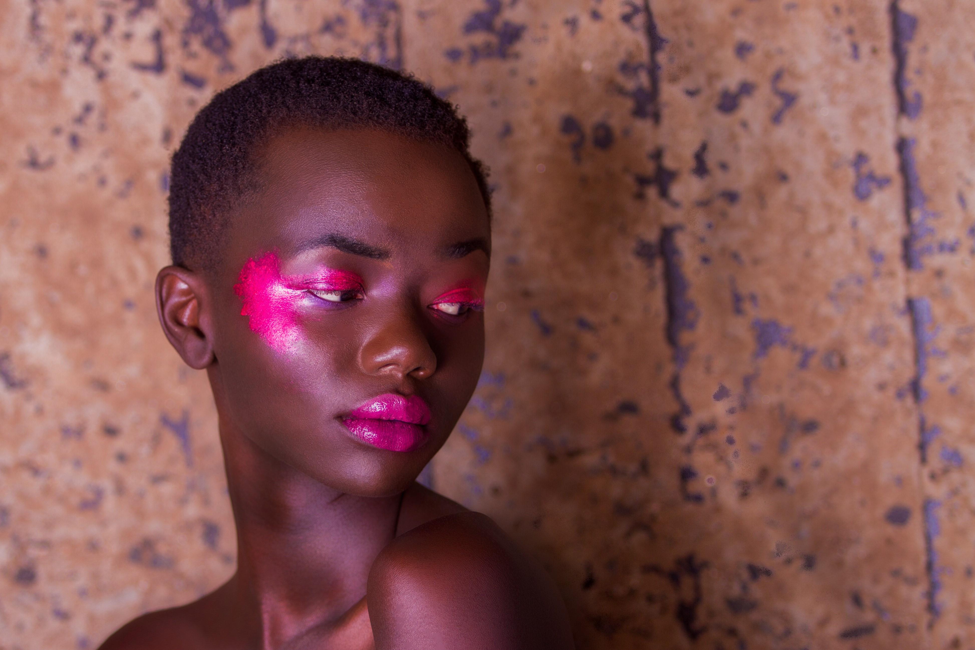 bold makeup shoot