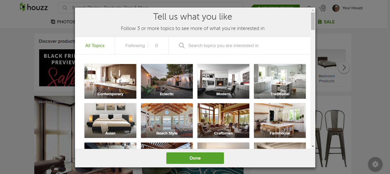 Houzz the must have interior design app lysa culture Houzz design app