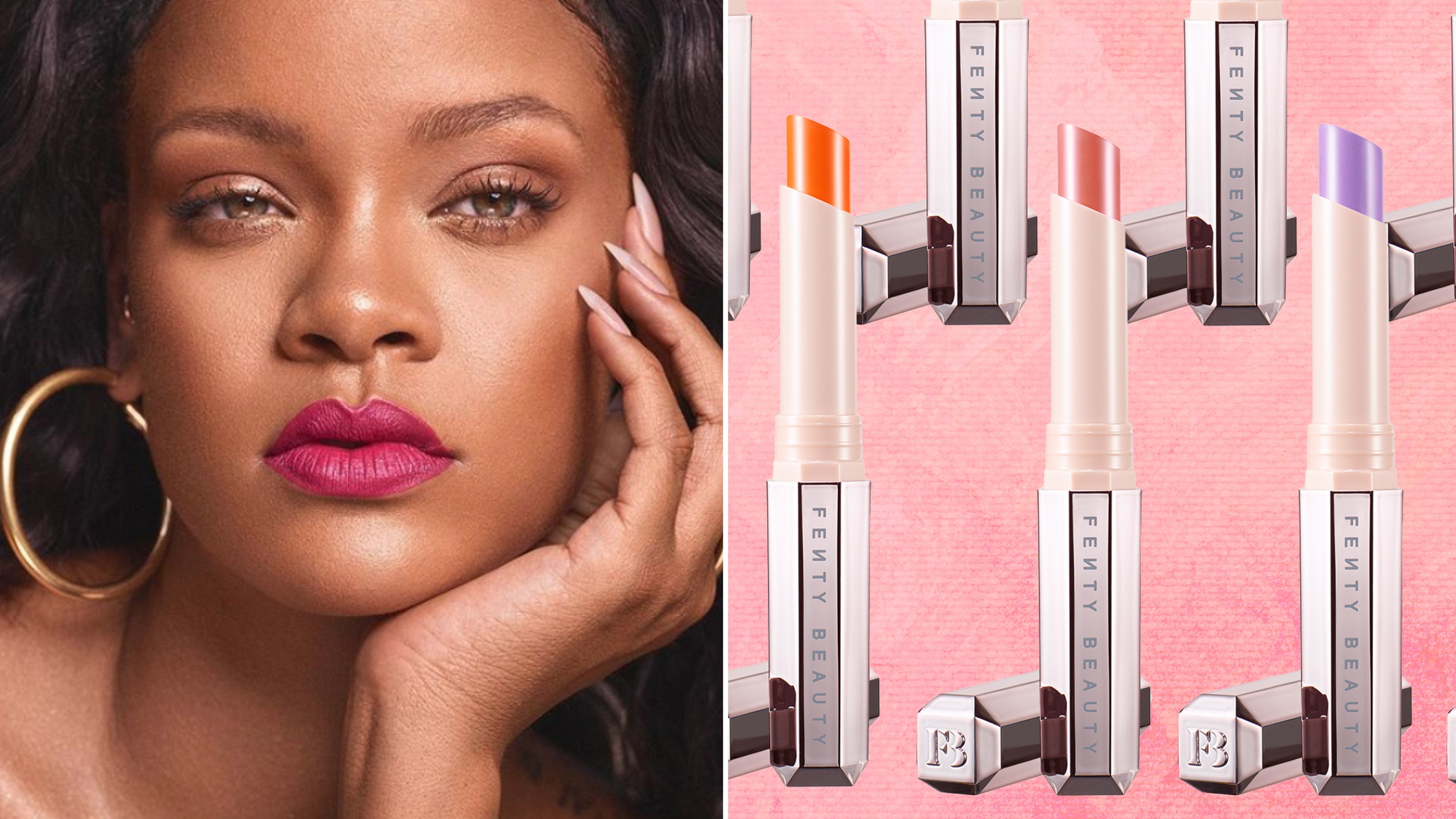 Fenty Beauty's New Mattemoiselle Lipsticks