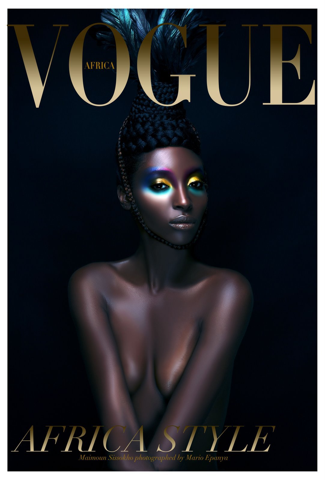 Africa Are You Ready For Vogue? Vogue Africa Edition From Naomi Campbell Lysa Africa Magazine