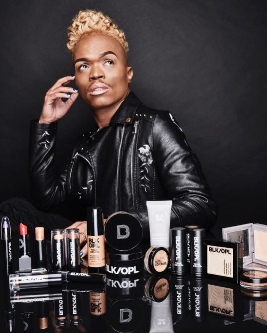 Somizi Mhlongo | The New Black Opal Brand Ambassador First African Male Brand Ambassador Black Opal South Africa Lysa Africa Magazine