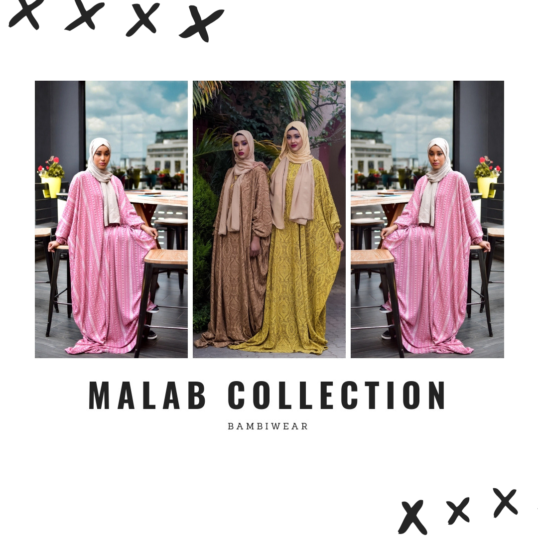Bambiface | Makeup Artists With Modesty Clothing Collection - Lysa Magazine Malab Collection Bambiwear Caleb Okumu Kenyan photographer hijab fashion scarfs malab collection